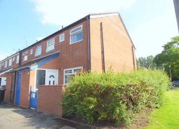 Thumbnail 3 bedroom end terrace house for sale in Harrogate Drive, Reddish, Stockport