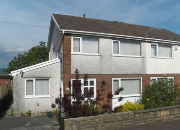 Thumbnail 3 bed semi-detached house to rent in Brayley Road, Morriston, Swansea