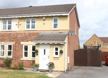 Thumbnail 3 bed semi-detached house for sale in Simfield Close, Standish, Wigan
