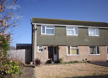 Thumbnail 3 bed semi-detached house for sale in Curlew Road, Mudeford, Christchurch, Dorset