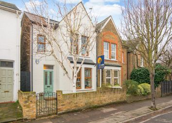 Thumbnail 3 bed semi-detached house for sale in Cross Road, Kingston Upon Thames