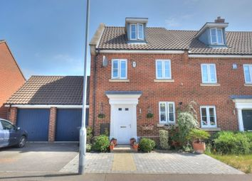 Thumbnail 4 bed semi-detached house for sale in Lord Nelson Drive, Norwich