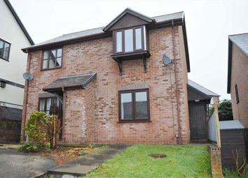 Thumbnail 1 bed semi-detached house to rent in 4, Campion Close, Llanllwchaiarn, Newtown, Powys