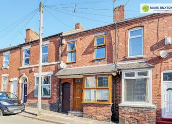 Thumbnail 2 bed terraced house for sale in Shaw Street, Newcastle Under Lyme
