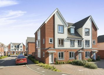 Thumbnail 4 bed town house for sale in Heron Road, Norwich, Norfolk