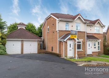 2 bed semi-detached house for sale in Winterfield Drive, Beaumont Rise, Bolton, Lancashire. BL3
