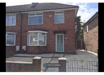 Thumbnail 3 bed end terrace house to rent in Broad Lane, Liverpool