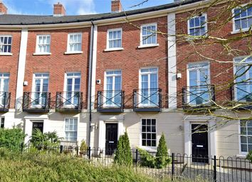 Thumbnail 4 bed town house for sale in Beacon Avenue, Kings Hill, West Malling, Kent