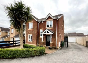 Thumbnail 4 bed detached house for sale in Delfryn, Miskin
