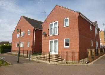 Thumbnail 2 bed flat for sale in Warren Court, Hampton Hargate, Peterborough