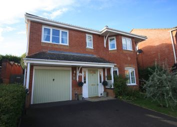 Thumbnail 4 bed detached house for sale in Grangefields, Shrewsbury, Shropshire