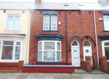 Thumbnail 3 bed terraced house to rent in Thornville Road, Hartlepool
