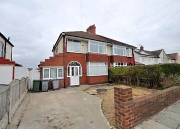 Thumbnail 3 bed semi-detached house for sale in Castleway North, Moreton, Wirral