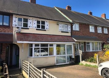Thumbnail 3 bedroom terraced house for sale in Pershore Close, Bloxwich, Walsall