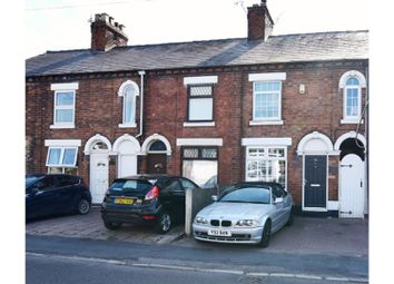 Thumbnail 3 bed terraced house for sale in Sandbach Road, Stoke-On-Trent