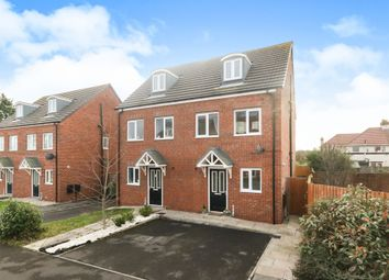 Thumbnail 3 bed town house for sale in Homerton Close, Ellesmere Port