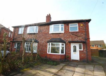 Thumbnail 3 bed semi-detached house for sale in Whitethorn Avenue, Burnage, Manchester