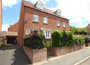 Thumbnail 4 bed semi-detached house for sale in Nerissa Close, Chellaston, Derby