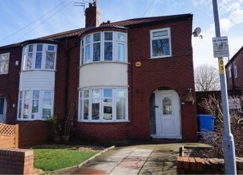 Thumbnail 3 bed semi-detached house for sale in Midgley Avenue, Manchester