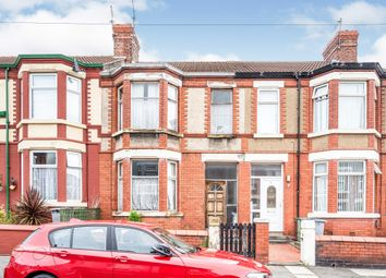 Thumbnail 3 bedroom terraced house for sale in Claughton Drive, Wallasey