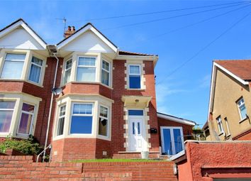 Thumbnail 4 bed semi-detached house for sale in Southville Road, Newport