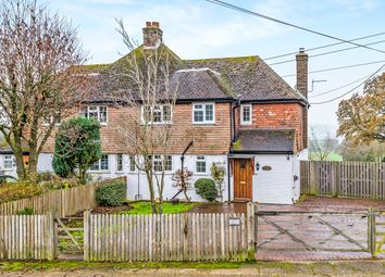 Thumbnail 3 bed semi-detached house for sale in Coopers Hill Road, South Nutfield, Redhill, Surrey