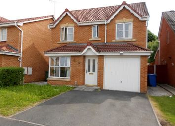 Thumbnail 4 bedroom detached house for sale in Newport Close, Wrexham