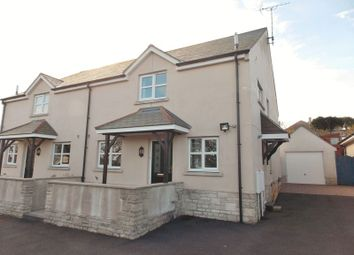 Thumbnail 3 bed semi-detached house for sale in Sweethill Mews, Portland