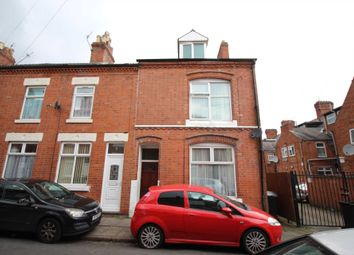 Thumbnail 4 bed end terrace house for sale in Sutherland Street, Leicester
