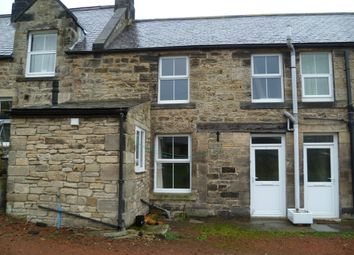 Thumbnail 1 bed cottage to rent in Stephenson Terrace Cottages, Rothbury, Morpeth