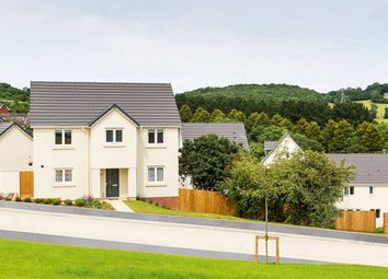 "Thumbnail 4 bed detached house for sale in ""The Carlton"" at Vicarage Hill, Kingsteignton, Newton Abbot"