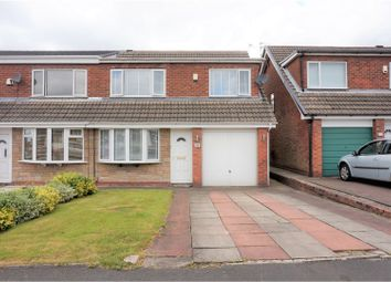 Thumbnail 3 bed semi-detached house for sale in Ellenor Drive, Manchester