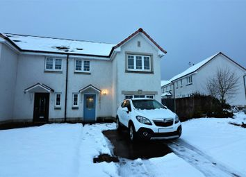 Thumbnail 3 bed semi-detached house for sale in Leny Crescent, Falkirk