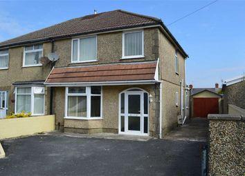 Thumbnail 3 bedroom semi-detached house for sale in Graiglwyd Road, Swansea