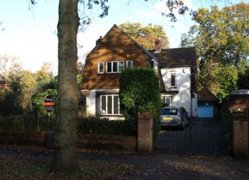 Thumbnail 3 bed detached house to rent in Canterbury Road, Farnborough