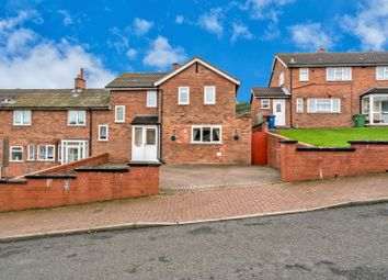 Thumbnail 3 bed end terrace house for sale in Brindley Crescent, Hednesford, Cannock