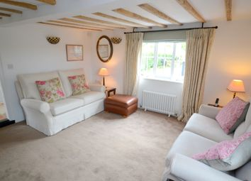 Thumbnail 4 bed cottage for sale in Bury Road, Thorpe Morieux, Bury St. Edmunds