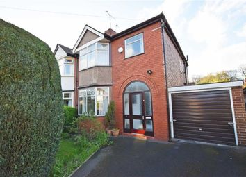 Thumbnail 3 bed property for sale in Broughville Drive, Didsbury, Manchester