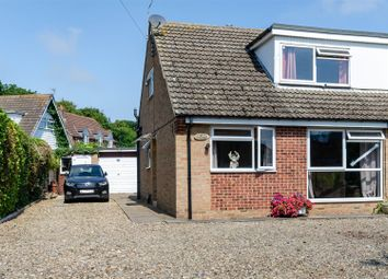 Thumbnail 3 bed semi-detached bungalow for sale in Coppers End, Lamb Lane, Roos, Hull