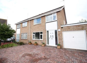 Thumbnail 3 bed semi-detached house for sale in Ashdown Close, St Johns, Worcester