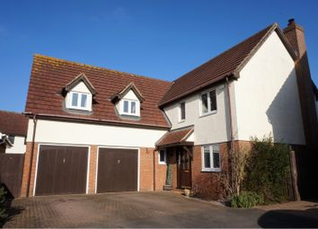 Thumbnail 5 bed detached house for sale in Salmons Close, Dunmow