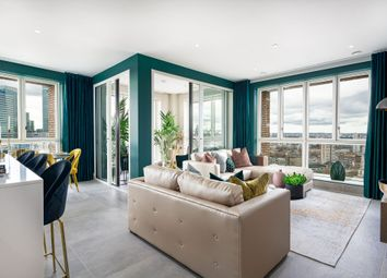 Thumbnail 3 bed flat for sale in Prestage Way, Poplar, East London