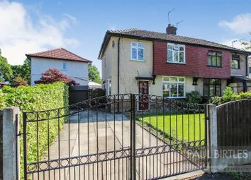 Thumbnail 3 bed semi-detached house for sale in Hastings Drive, Flixton, Manchester