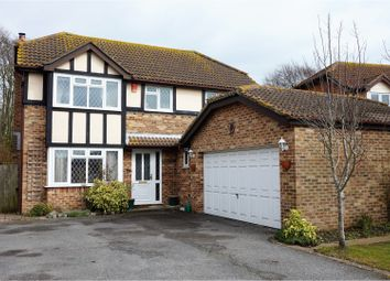 Thumbnail 4 bed detached house for sale in Anne Roper Close, New Romney