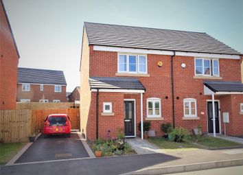 Thumbnail 2 bed semi-detached house for sale in Nothill Way, Anstey, Leicester