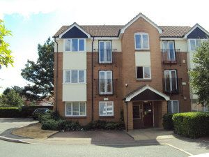 Thumbnail 2 bed flat to rent in Sparks Close, Dagenham