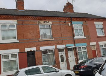 Thumbnail 3 bed terraced house for sale in Dundonald Road, Leicester