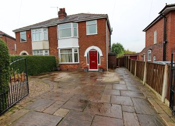 Thumbnail 3 bedroom semi-detached house for sale in Mansion Avenue, Whitefield, Manchester