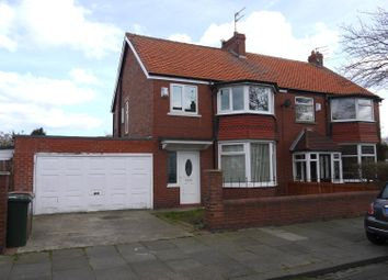 Thumbnail 3 bedroom semi-detached house to rent in Crawford Place, Whitley Bay
