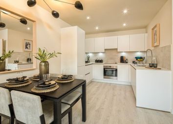 "Thumbnail 2 bedroom flat for sale in ""Batik Court"" at Angora Close, Wallington"